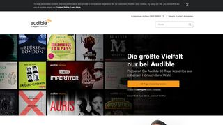 Audible Gutscheine - Screenshot
