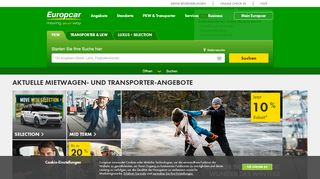 Screenshot Europcar