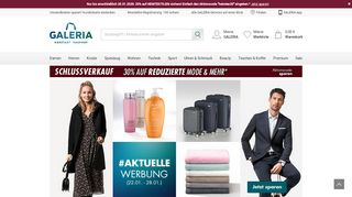 Screenshot Karstadt