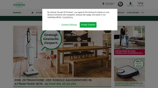 Screenshot Vorwerk