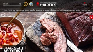 Screenshot Weber Grill
